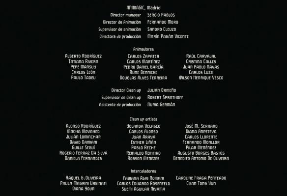 Resultado de imagem para créditos do filme