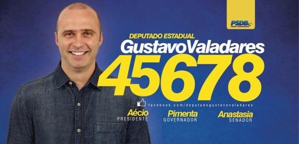 Resultado de imagem para gUSTAVO vALADARES DEPUTADO PSDB