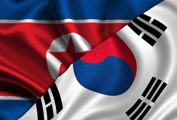 Resultado de imagem para coreia do norte x coreia do sul