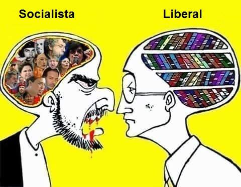 Resultado de imagem para Liberalismo vs Socialismo